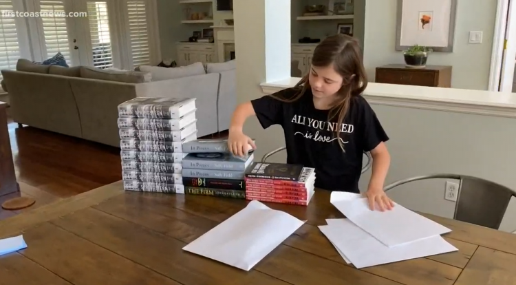 10-year-old St. Johns County girl raising money to help children in need on the First Coast