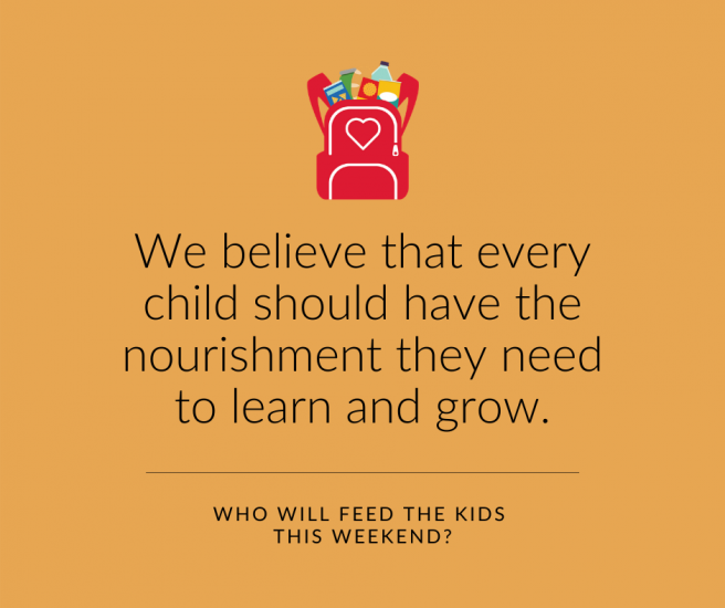 Blessings in a Backpack's Cultural Statement