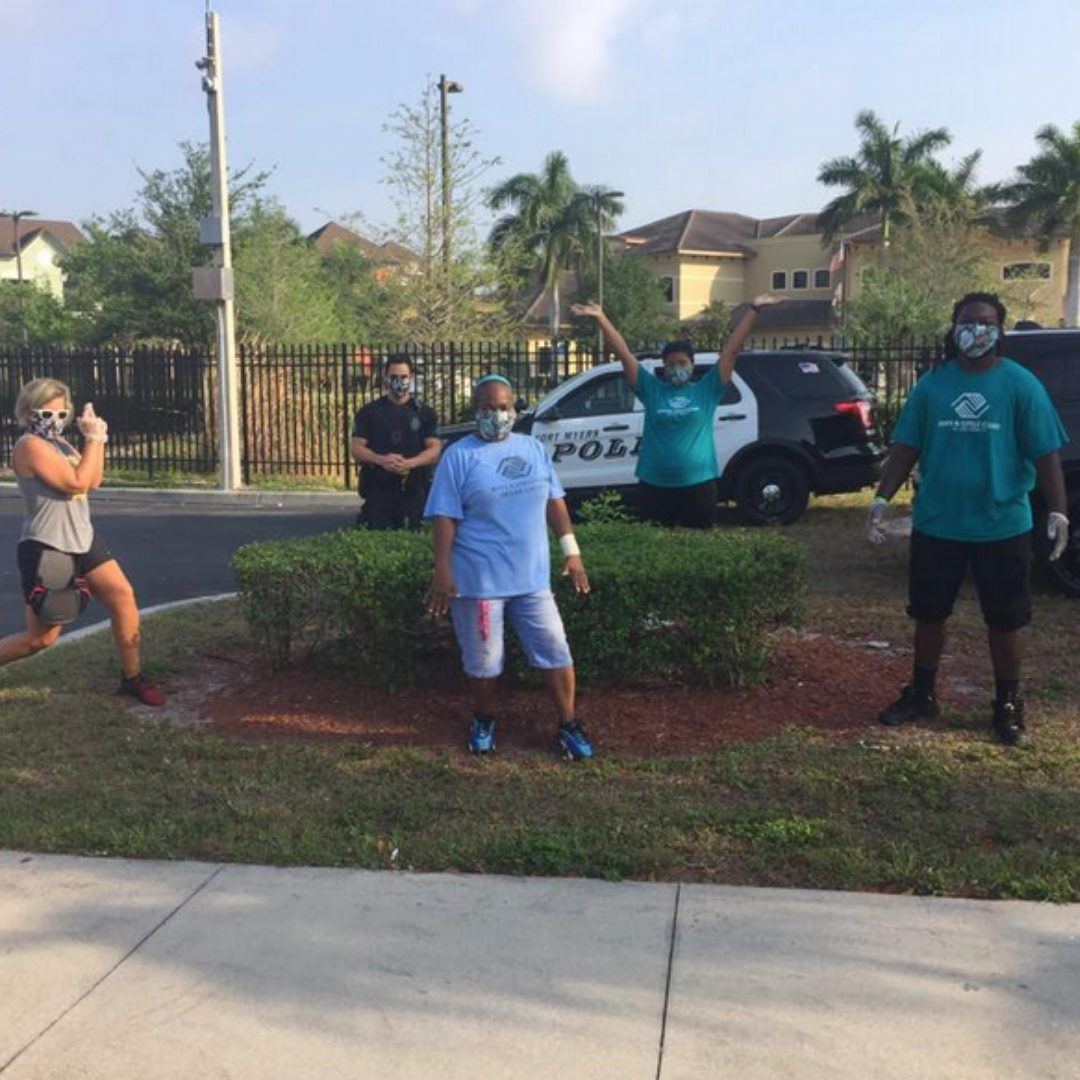 Boys and Girls Club volunteers in SWFL