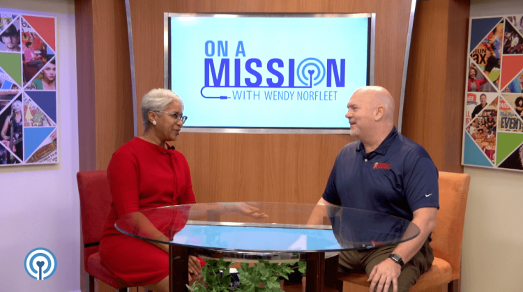 """On A Mission"" with Sean Stenson from Blessings in a Backpack"