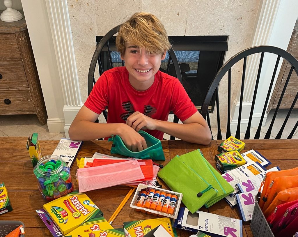 Student Uses Bar Mitzvah to Fundraise for Blessings First Coast